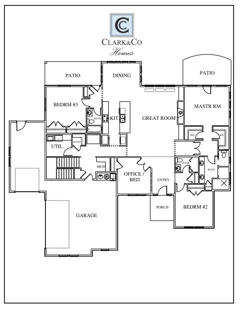 Clark and Co Homes PLANS 1824 Pinterest – Idaho Home Plans