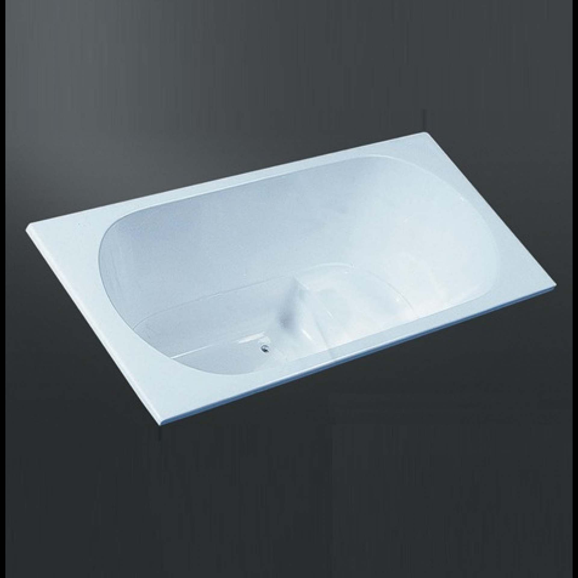 MODA FONDO Concealed Bath 8mm Thick Acrylic Gloss - Product Code: A ...