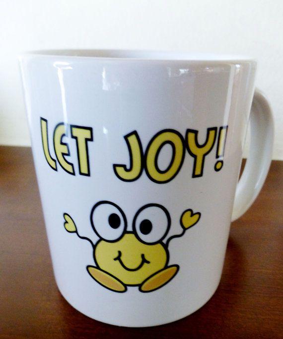 Let Faith Grow MugJoy MugLet Joy Mug16 oz.White by JollieSweets