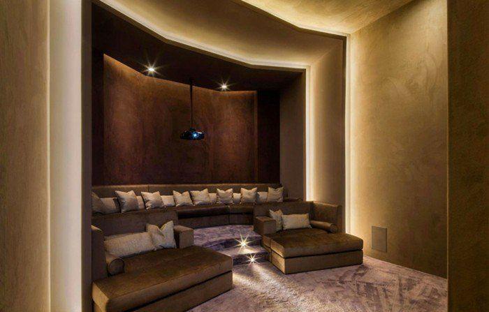 Perfekt Braune Wandgestaltung Moderne Wohnung Mit Brauntönen