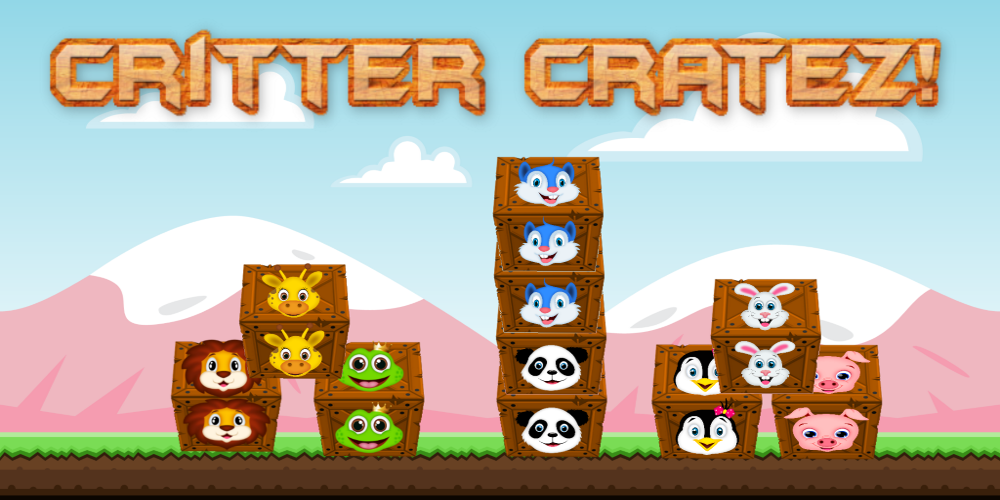 Critter Cratez is a fun puzzle game where you must slide