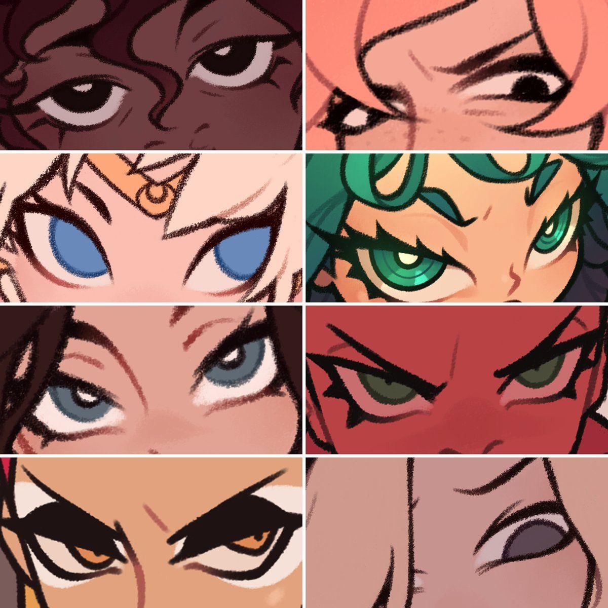 P R I S Bampshi Twitter Cartoon Art Styles Eye Drawing Art Reference Photos