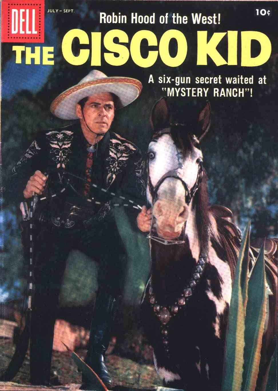 The Cisco Kid 40 Dell Comics Western Publishing