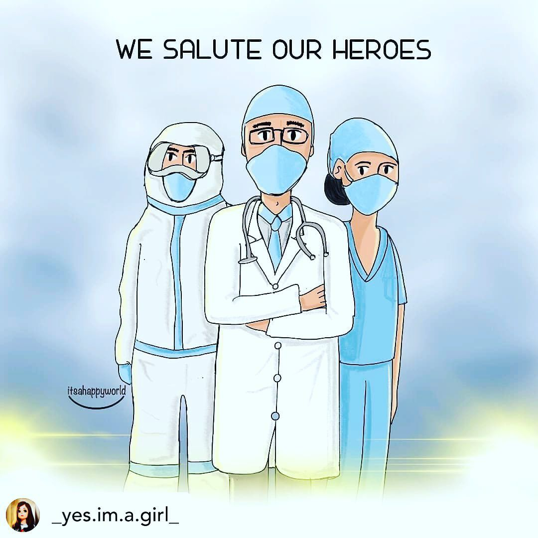 We Salute Our Heroes in 2020 Nurse quotes inspirational