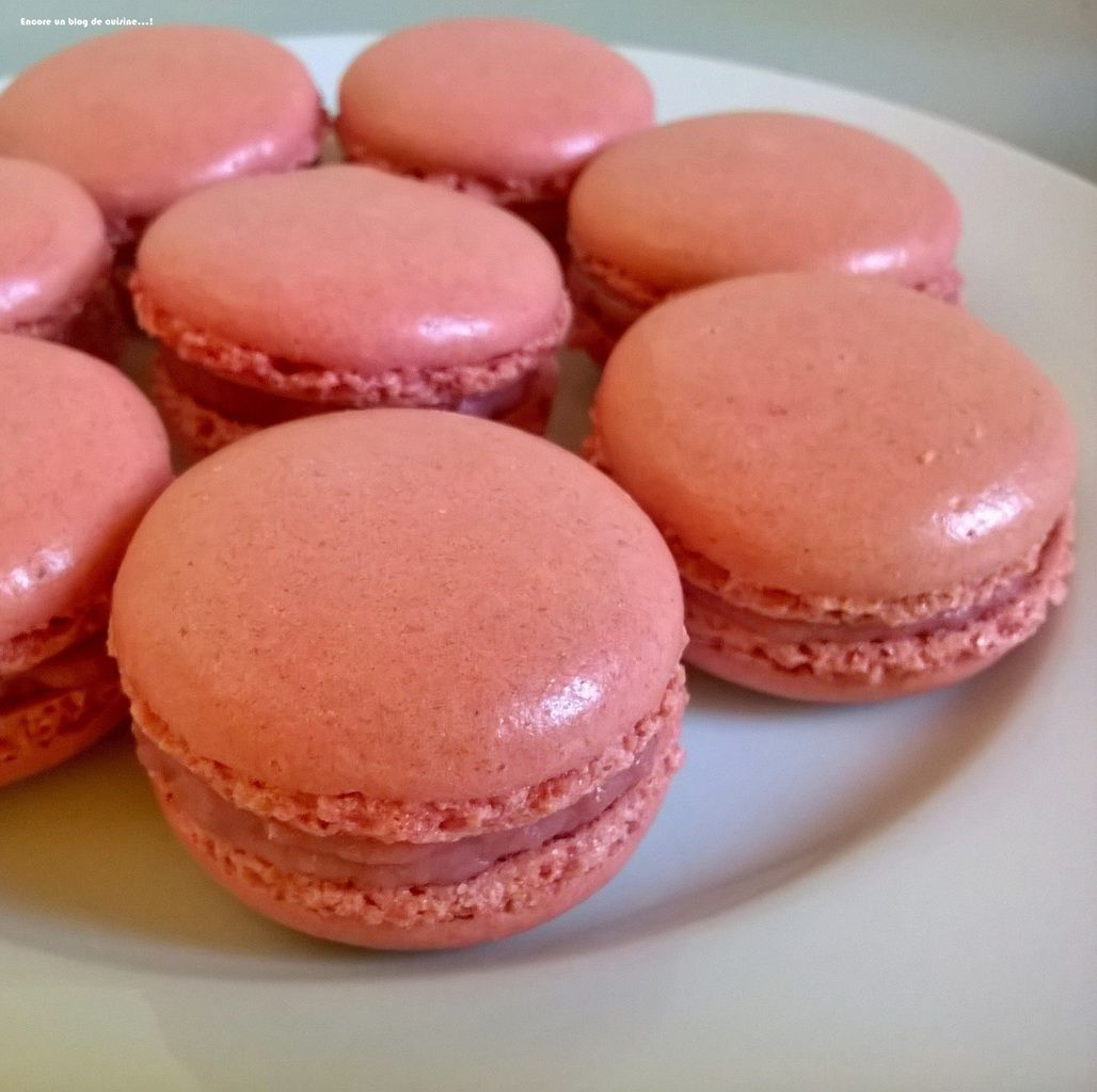 Macarons, basic recipe for success hulls # 50