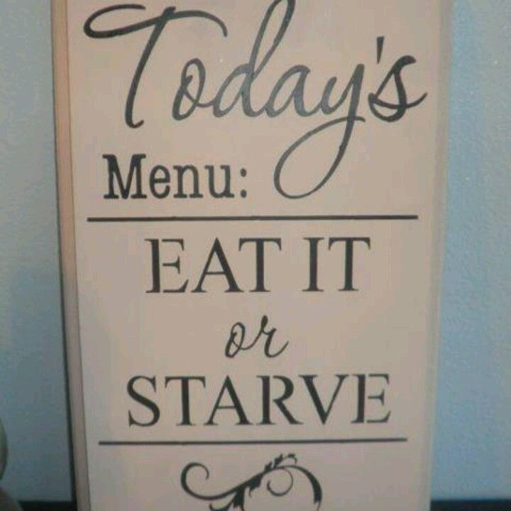 Kitchen Remodel Quotes: I NEED This Sign For My Kitchen!