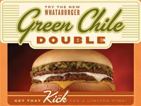 Whataburger Green Chili Burger! | My fav places | Banana pie