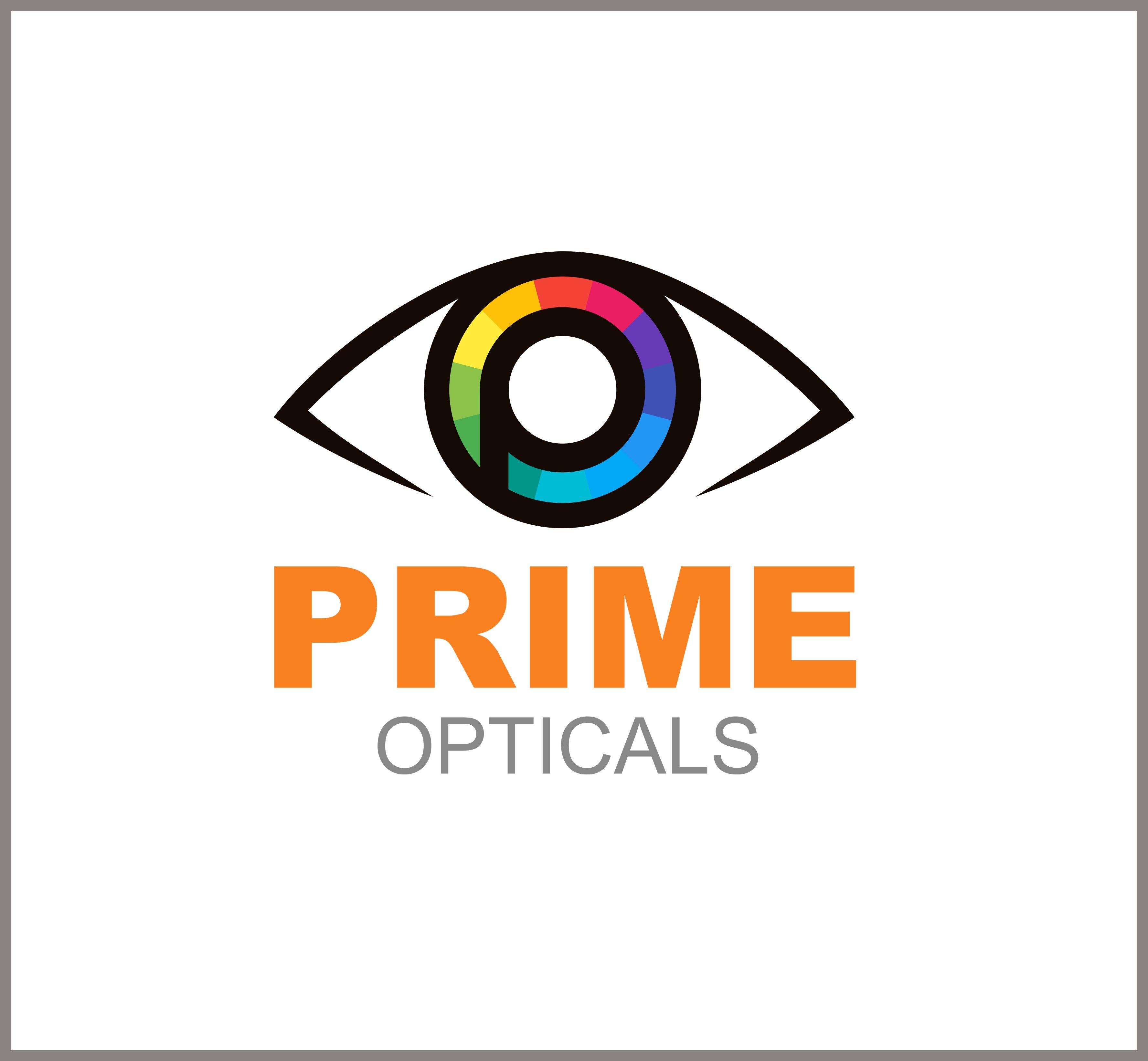 New #logo designed for #primeopticals  Thank you for entrusting us