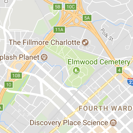Charlotte Douglas Parking Map on