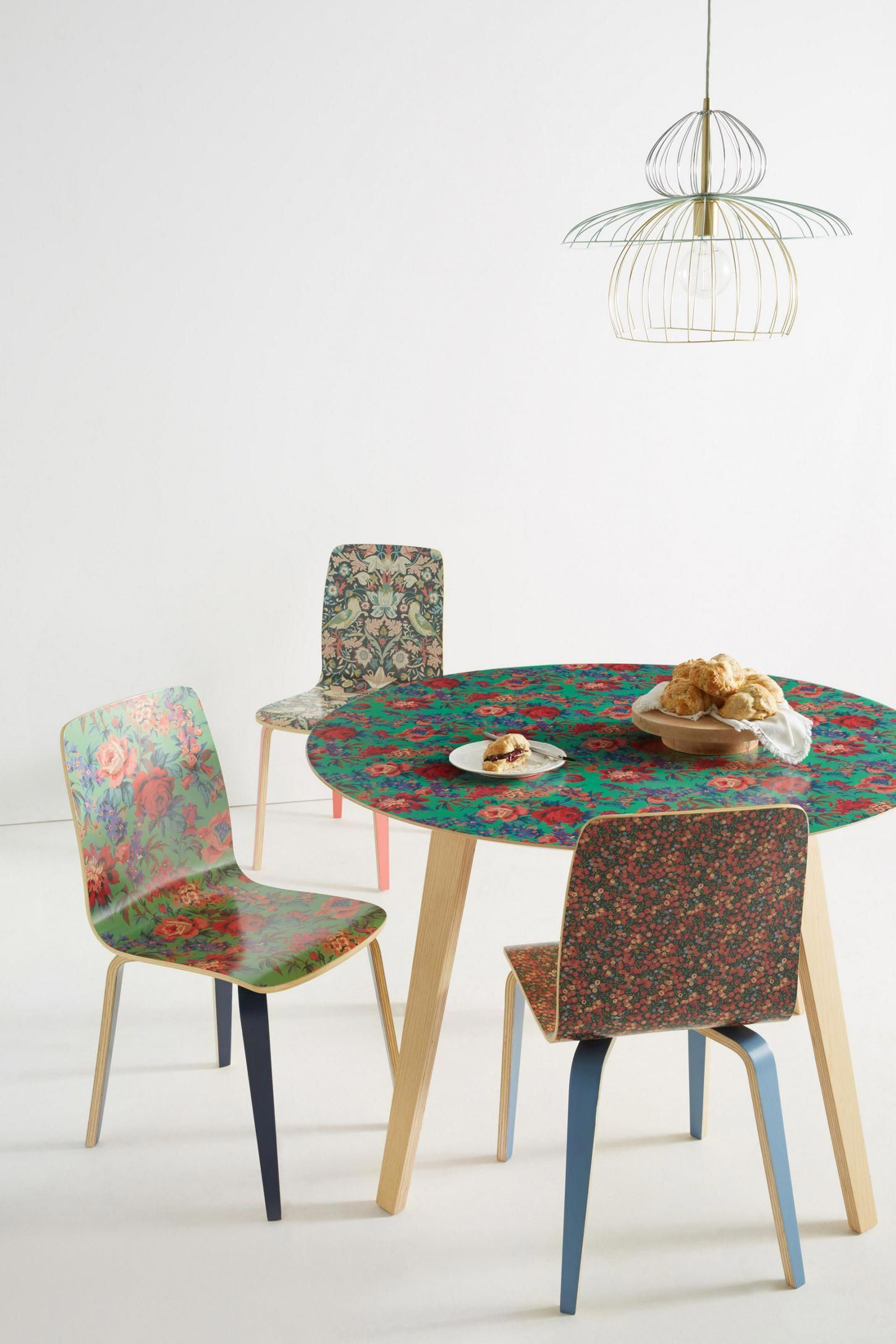 Liberty Dining Chairs Hanging Chair Spring Slide View 7 For Anthropologie Tamsin Fabricdiningchairs