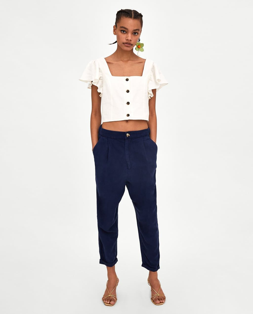 another chance order online well known Image 1 de PANTALON BAGGY EN TISSU BRUT de Zara | wish list ...