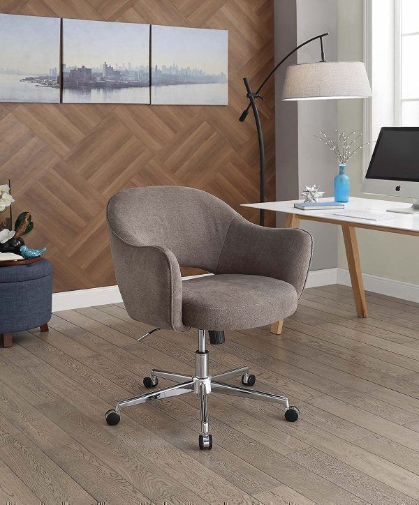 stylish home office chair fluffy white 30 stylish home office desk chairs from casual to ergonomic ergonomicofficechairstylish