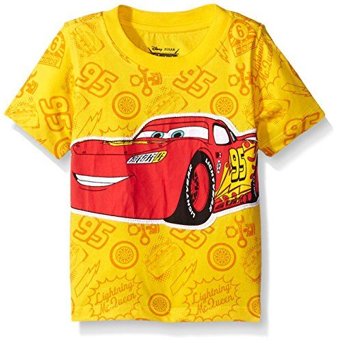 Disney Boys Cars Lightning McQueen T-Shirt