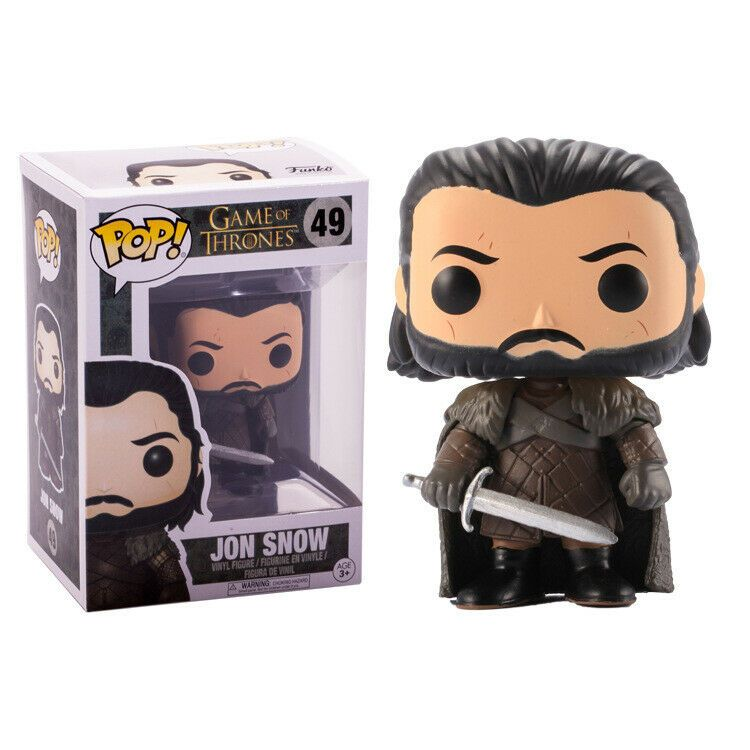 Details About Funko Pop Game Of Thrones 49 Jon Snow In 2020 Pop Game Of Thrones King Jon Snow Action Figures