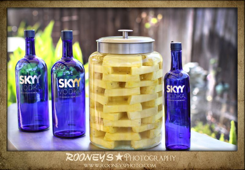 Pinapple Infused Vodka