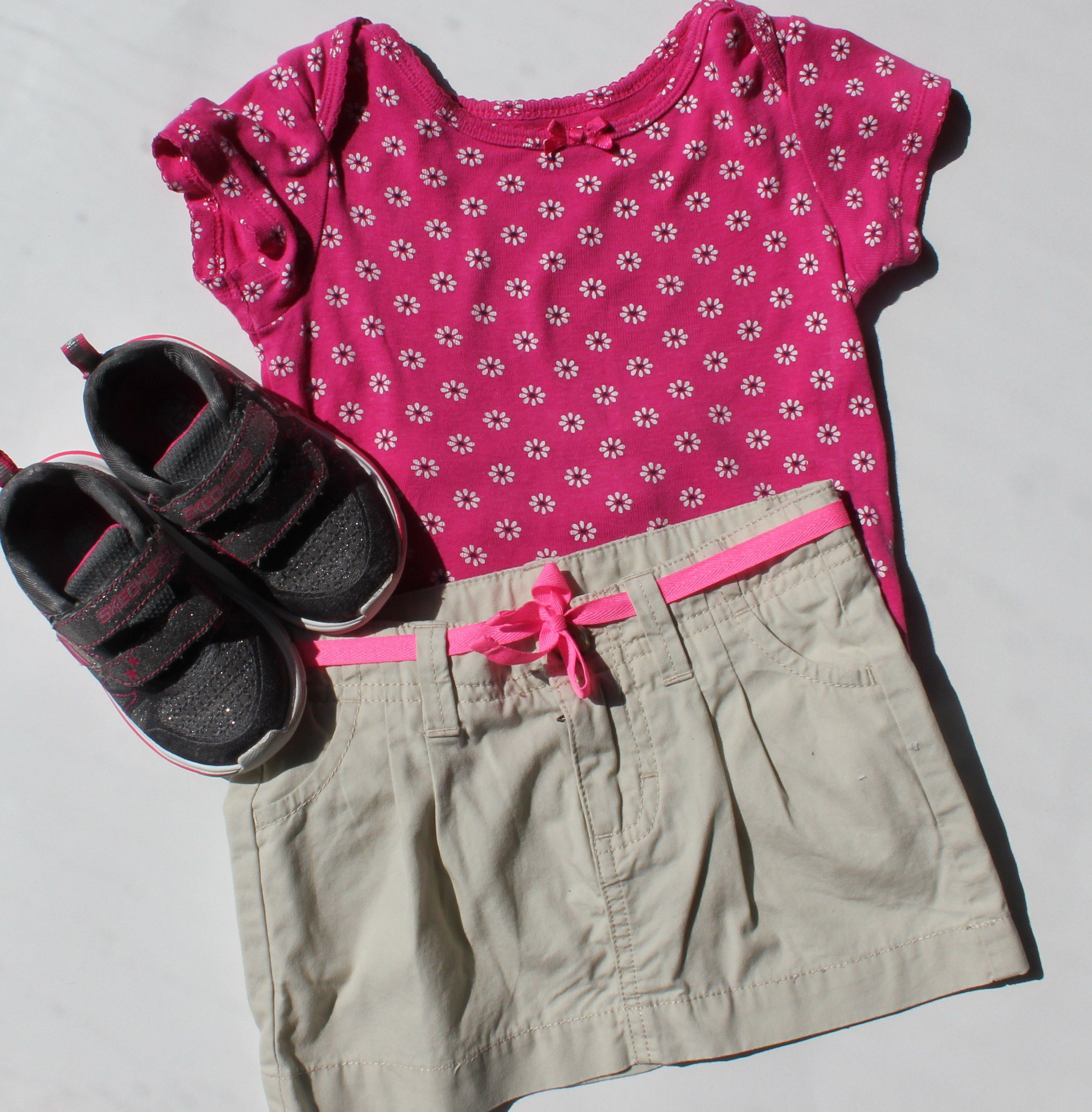 Baby Girl Outfit for Summer Size 18 Months Osh Kosh Skirt