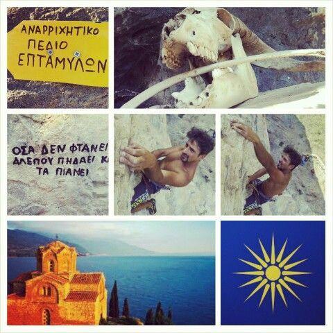 climbing greece vol. II (Macedonia, epiro, Tracia )  13 aug #igoumenitsa  14 aug #ioannina - #zagorohoria - #vikosgorge #kipoi #kokori  15 aug #edessa #waterfalls #skydra   16 aug #thessaloniki #agiossofia #agiosdemetriou #galerio #whitetower   17 aug #serres #eptamyloi #kavala   18 aug #thassos #giola #aliki #beach #pradisebeach #goldenbeach #potamia #limenaria  19 aug #keramouti #return #ioannina-grecce climbing greece vol. II (Macedonia, epiro, Tracia )  13 aug #igoumenitsa  14 aug #ioannina #ioannina-grecce