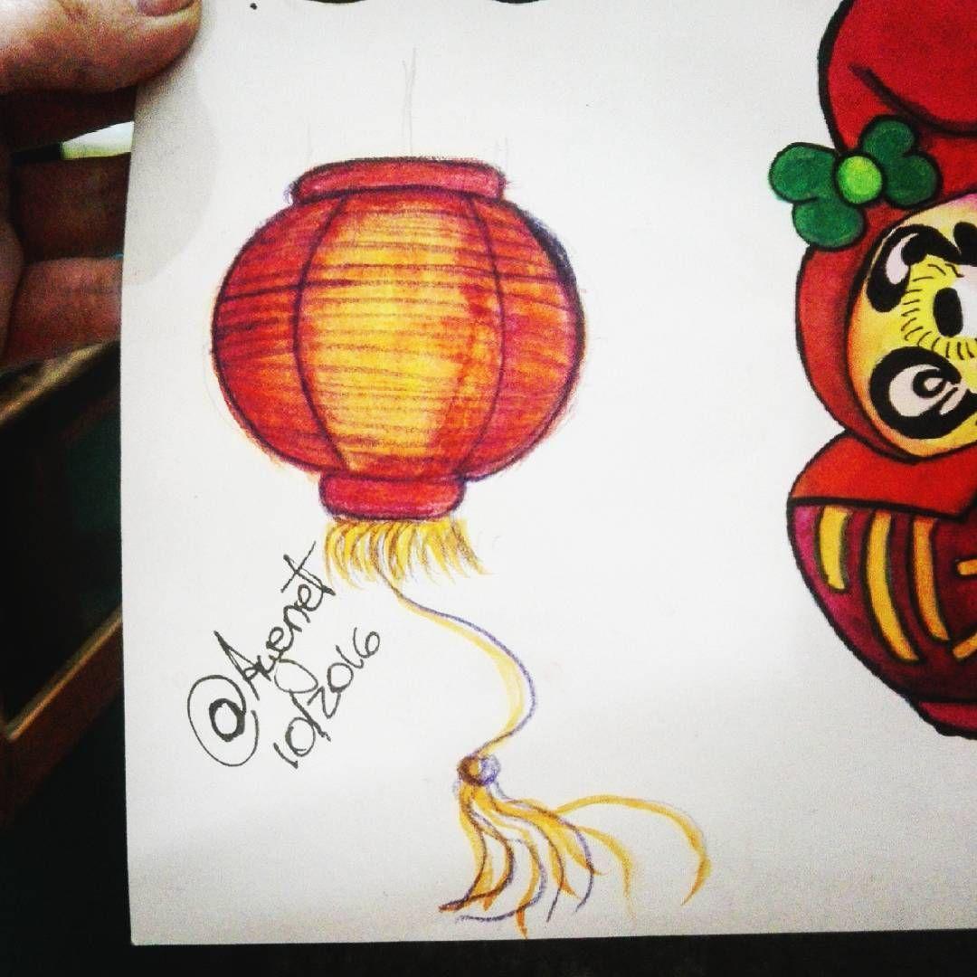 "31 Me gusta, 1 comentarios - Ayenet (@ayenetcustomart) en Instagram: ""Farolito chino #farolchino #forolitochino#lantern#light #lamps #chineselantern #desing #sketch…"""
