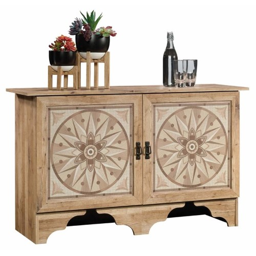 Best Pemberly Row Accent Cabinet In Antigua Chestnut Brown 400 x 300
