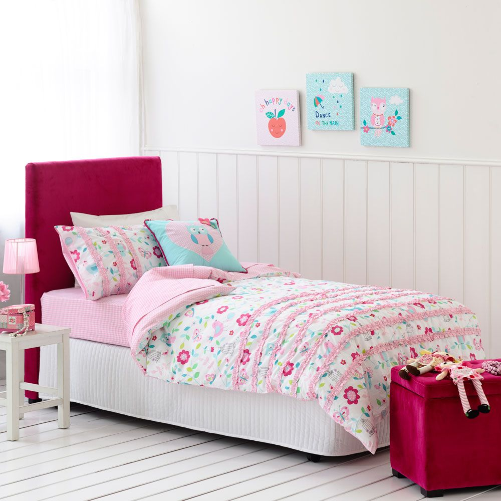 adair kids - trailing garden cot quilt $69.95 single bed quilt, Schlafzimmer entwurf