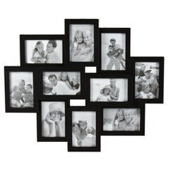10 Opening Collage Picture Frame Black 4x6 With Images Picture Frame Wall Collage Frames