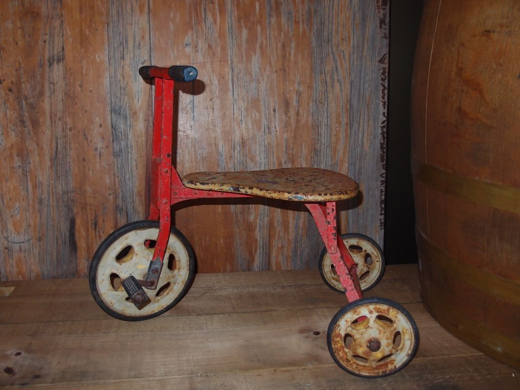 Vintage Tricycle - a great addition to the lemonade stand. Available at www.remember-when.com.au