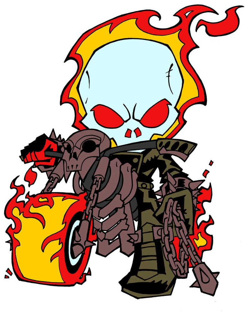 Image Result For Ghost Rider Chibi
