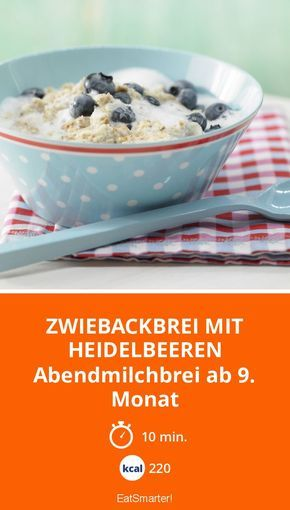 zwiebackbrei mit heidelbeeren rezept essen f r zauberm use pinterest. Black Bedroom Furniture Sets. Home Design Ideas