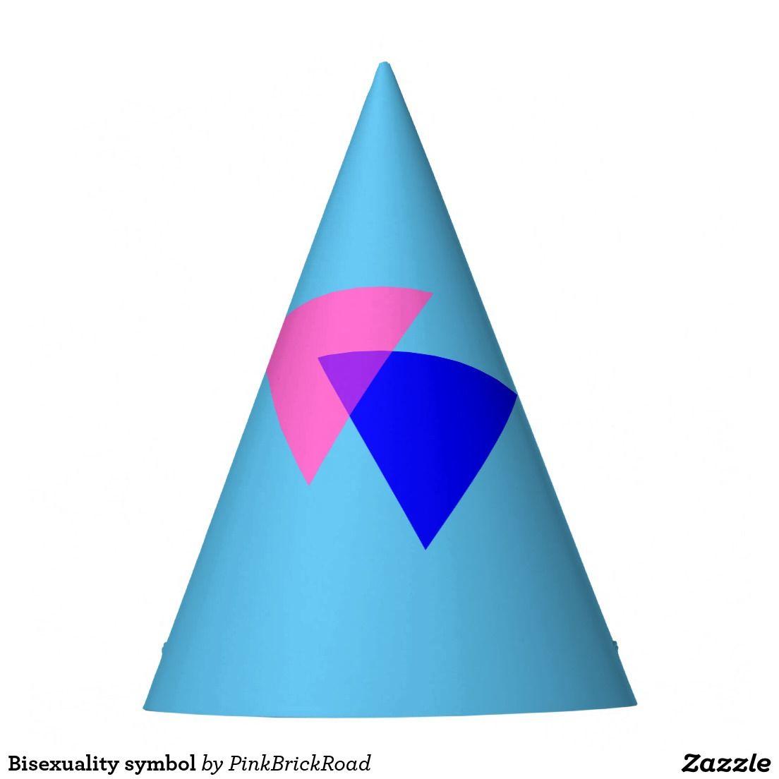 Bisexuality Symbol Party Hat Symbols
