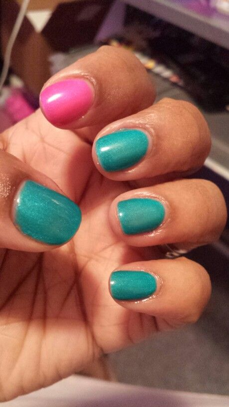 Gelaze - Turned Up Turquoise (G) (With images) | Nail art ...