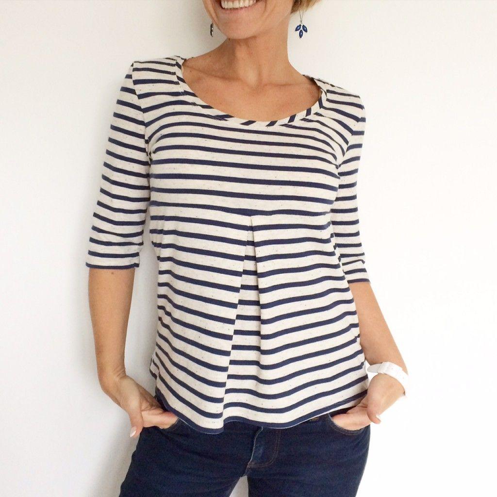 Basic Three version tee shirt jersey de coton | petit haut ...