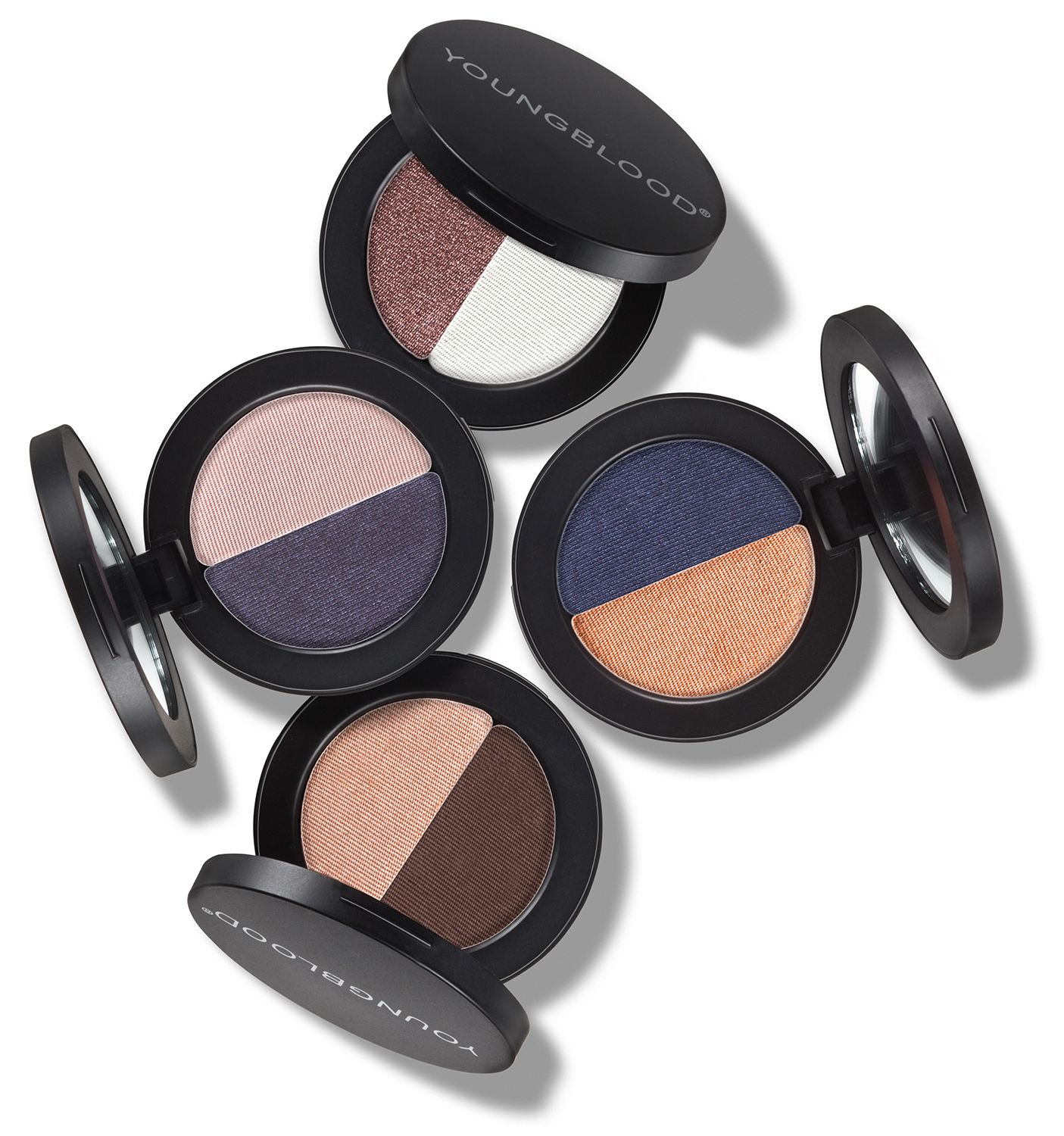 Holiday 2015 Mineral Eyeshadow Duos Youngblood