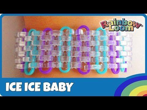 Rainbow Loom Ice Ice Baby - deutsche Anleitung - YouTube