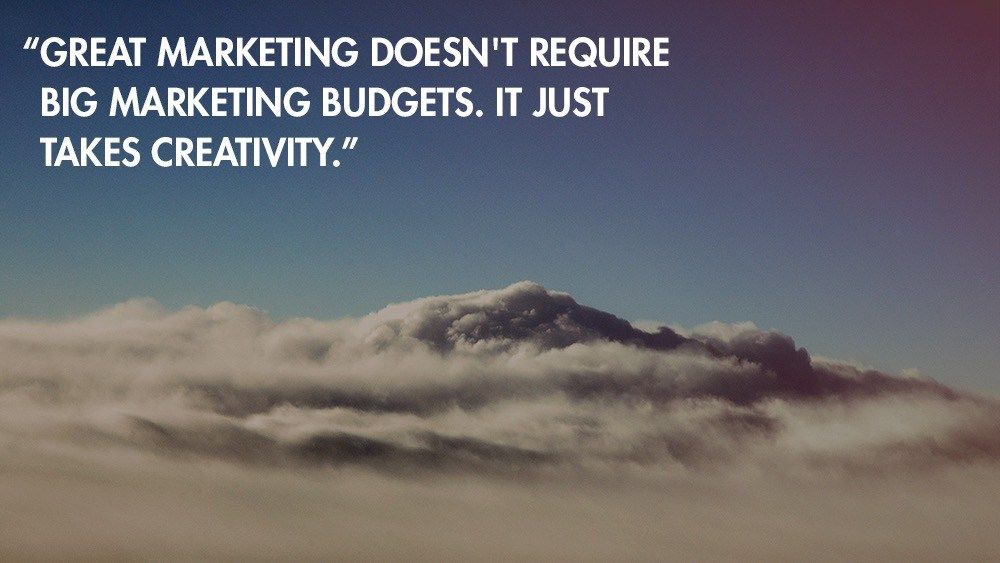12 Tips To Operate Your Small Business Marketing on a Shoestring Budget - http://www.creativeguerrillamarketing.com/advertising/12-tips-to-operate-your-small-business-marketing-on-a-shoestring-budget?utm_source=rss&utm_medium=Friendly Connect&utm_campaign=RSS #Guerrilla via @CGuerrillaMBlog