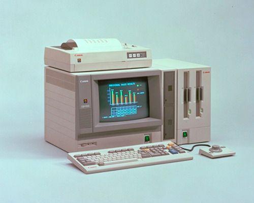 Canon AS-100 Computer