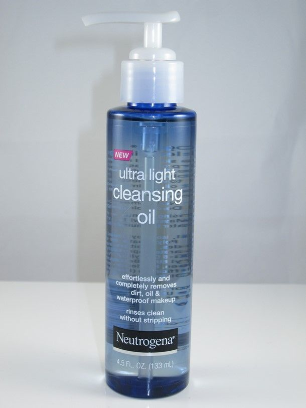 80f2e1ef796 Neutrogena Ultra Light Cleansing Oil ($8.99) is one of a few new drugstore cleansing  oils headed our way this Summer/Fall 2015. Cleansing oils are sadly la