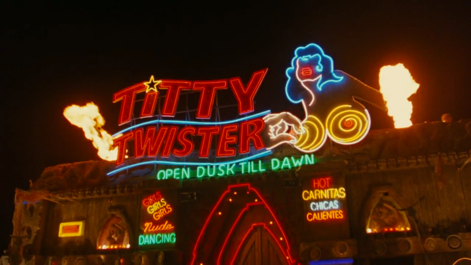 The Titty Twister From Dusk Till Dawn Movie Bars