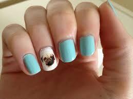 pug nail art - Google Search
