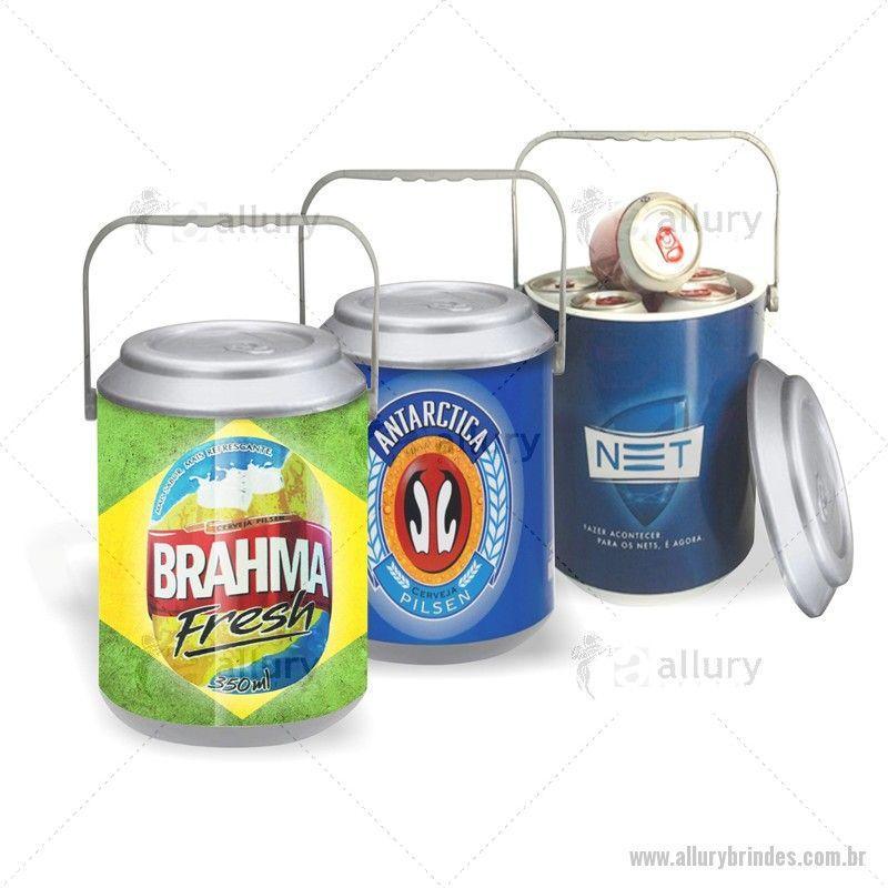 Procurando Brindes Personalizados? Cooler Térmico para 10 latas PVC Rígido