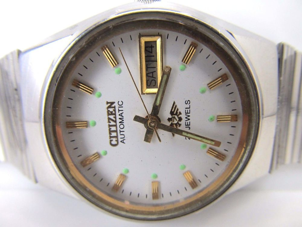 100%GENUINERARE VINTAGE  GENTS CITIZEN AUTOMATIC 21 JEWELS MEN'S WRIST WATCH 865 #CITIZEN21JEWELS #Dress
