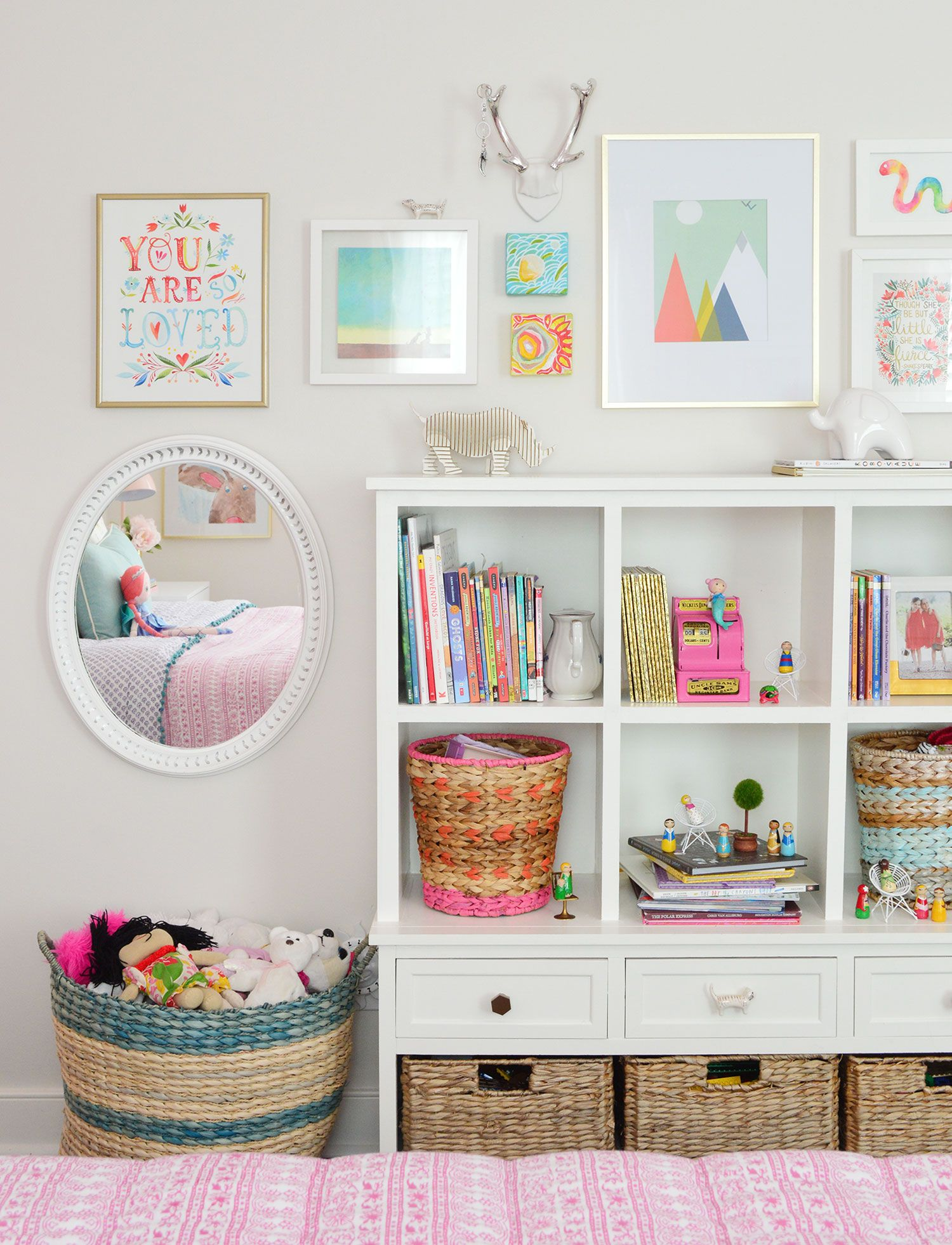 Our Little Girl's Bedroom Makeover | Young House Love