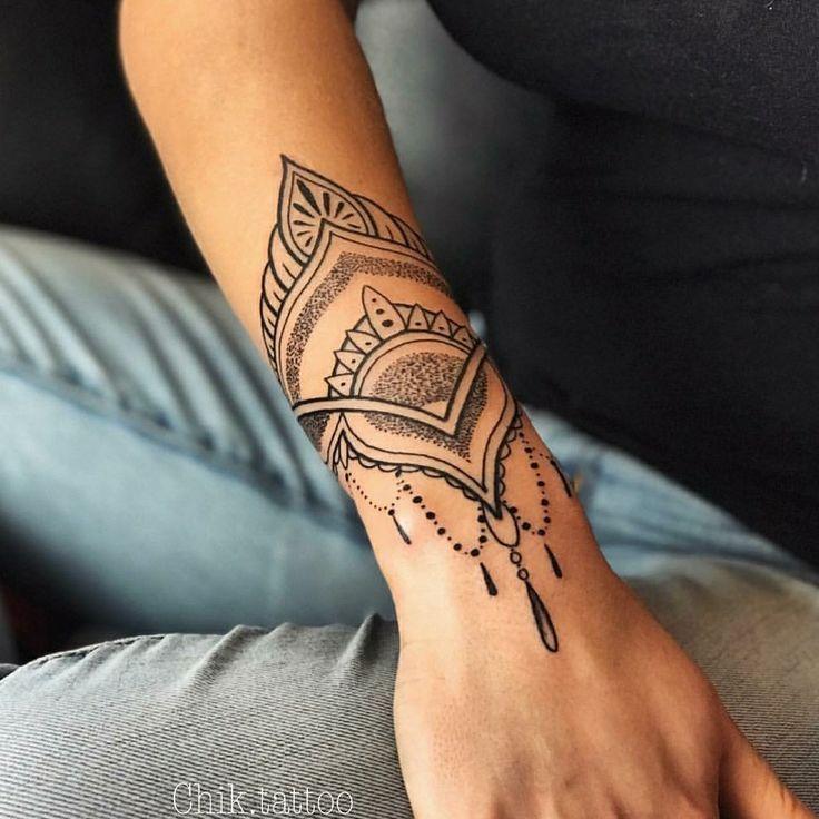 11++ Tatouage avant bras femme mandala trends