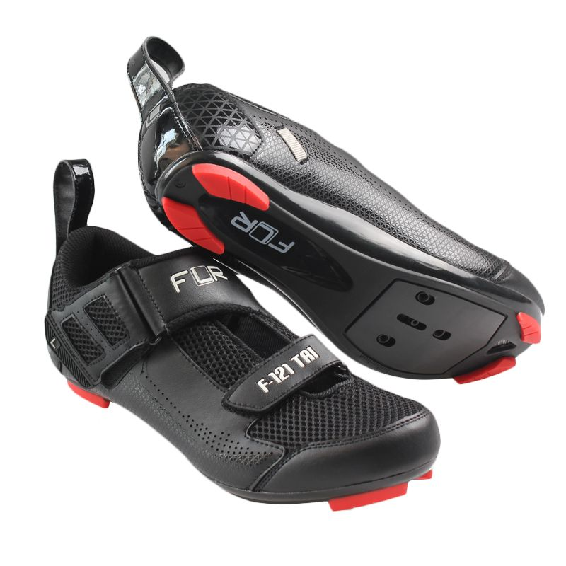 Flr F 121 Triathlon Shoe Lock Shoes Road Bike Mountain Bike Riding Shoes Breathable Anti Skid Lock Shoes Cycling Shoes Women Triathlon Shoes Road Bike Shoes