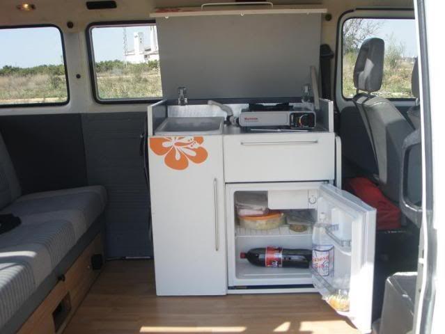 Mueble furgo cocina extractor buscar con google for Mueble cocina camping
