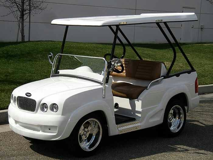 Range Rover Pedal Cars Electric Golf Cart