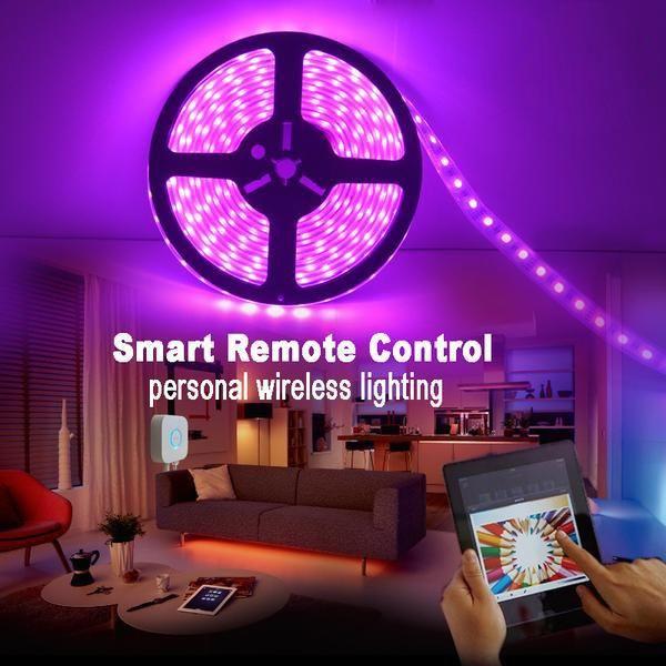 Trippy LED RGB Light Strip Stick to any Surface | Led lights