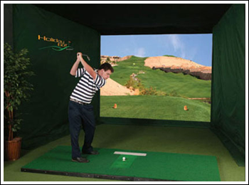 Indoor Golf Simulator is perfect for organizing private