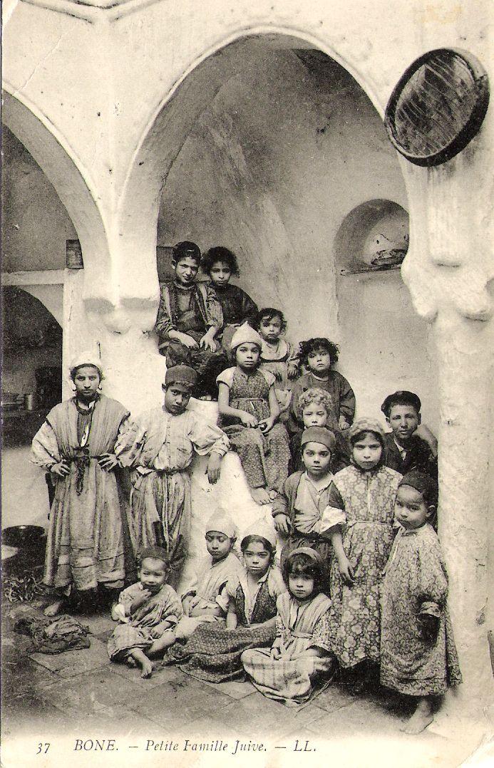 Bône (Annaba, Algérie) - famille juive