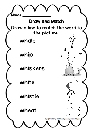 Digraph Activities, Games & Worksheets {wh | Student ...
