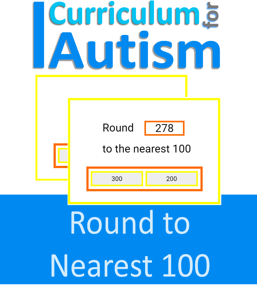 Boom Cards Rounding To Nearest 100 Math Cards Autism